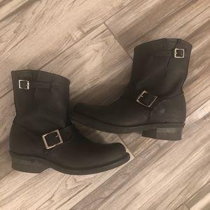 Black Frye Engineer Boots